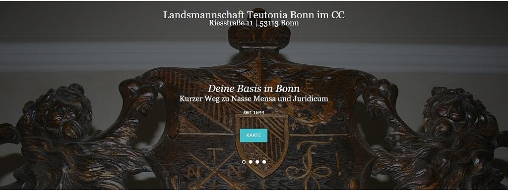 landsmannschaft teutonia bonn studentenverbindung in bonn mit studentenwohnheim. Black Bedroom Furniture Sets. Home Design Ideas