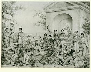 1844_Teutonia_am_Foveauxhäuschen